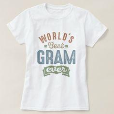 #Best Gram T-Shirt - #giftidea #giftideas #gifts for #grandpa & #grandma #grandparents