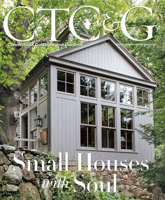 CTC&G March 2015 issue featuring  Wilton, Connecticut homeowner Jane Bescherer. #CTC&G