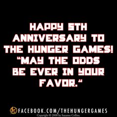 The Hunger Games 5th Anniversary