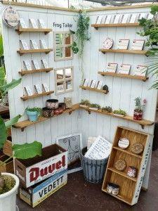 2015-06-09 09.27.55 Craft Fair Displays, Market Displays, Booth Decor, Craft Stalls, Plate Display, Market Stalls, Craft Markets, Cafe Bar, Booth Design