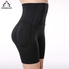 7933e3beab0 Topmelon Shapwear High Waist Trainer Leg Body Shaper Butt Lifter Underwear  Women Padded Panties Hip Booty Enhancer Control Pants