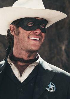 Armie Hammer as Lone Ranger