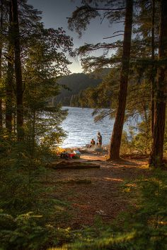 this looks exactly where me and my bina camped in the UP!
