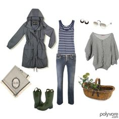 Gardening outfit
