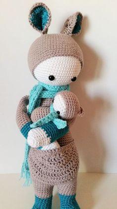 Patrón muñeca bebé amigurumi de crochet - ganchillo - hecho a mano en DaWanda.es