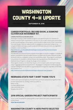 9/16/16 Washington County 4-H Update