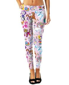 Character Collage Leggings