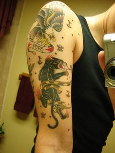 sailor jerry sleeve | flippedcracker | Flickr