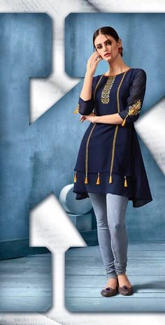 Stylish Dresses For Girls, Stylish Clothes For Women, Girls Fashion Clothes, Stylish Outfits, Fashion Outfits, Stylish Dress Book, Girls Dresses, Dress Neck Designs, Stylish Dress Designs