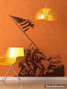 Wall Stickers flag soldiers