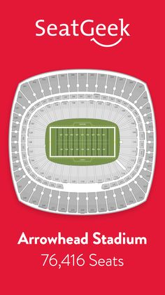 Find the best deals on Kansas City Chiefs tickets and know exactly where you'll sit with SeatGeek.