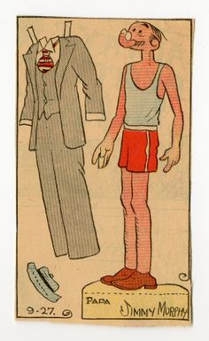 78.2411: Papa | paper doll | Paper Dolls | Dolls | National Museum of Play Online Collections | The Strong