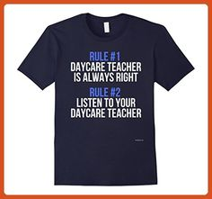 Mens Funny Daycare Teacher Shirt - Gift For Daycare Teachers Medium Navy - Careers professions shirts (*Partner-Link)