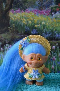 ooak mexican doll handmade fantasy character mariachi troll doll one