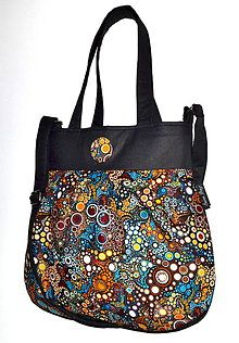 Kabelky - kabelka Miss Bubble Bubblies 1 - 4570989_ Diaper Bag, Reusable Tote Bags, Couture, Fashion, Moda, Fashion Styles, Diaper Bags, Mothers Bag, Haute Couture