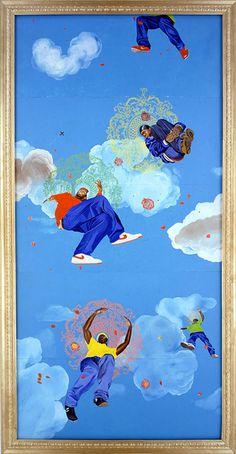Brooklyn Museum: Passing/Posing: Kehinde Wiley Paintings