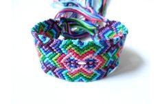 Complex+Macrame+Friendship+Bracelet+by+TheMathLady+on+Etsy,+$25.50