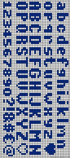 Darling Make Alphabet Friendship Bracelets Ideas. Wonderful Make Alphabet Friendship Bracelets Ideas. Bead Loom Patterns, Beading Patterns, Embroidery Patterns, Stitch Patterns, Embroidery Alphabet, Learn Embroidery, Cross Stitch Embroidery, Letter Patterns, Alpha Patterns