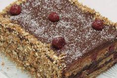 "Tortul ""Ziua și noaptea"" — un desert simplu, ușor și delicios! - Retete-Usoare.eu Sweet Cooking, Pastry Cake, Tiramisu, Ethnic Recipes, Desserts, Food, Youtube, Banana, Vegan Baking"