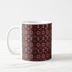 Armenian Folk Art Mug - traditional gift idea diy unique