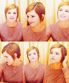 Emma Watson's Very Cool Yet Fabulous Pixie Cut