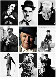 Charles Chaplin, facetas...