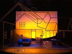 Lucy. Delaware Theatre Company. Scenic design by Alexis Distler.