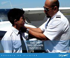 #BuenViernes para todos !   Queremos felicitar a nuestro Alumno Henry Uchupanta por haber realizado su primer vuelo solo.    Quieres ser #piloto ? Pregúntanos como! info@skyecuador.com 04 600 8250 o ( 0969063172 solo WhatsApp ) www.skyecuador.com