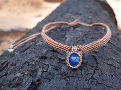 Image result for macrame crystal necklace