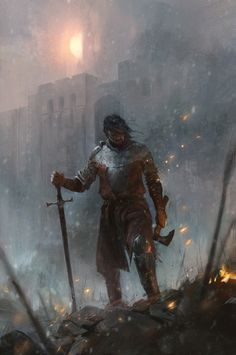 fantasy_dark — Red Season Rising by John Anthony Di. Dark Fantasy Art, Fantasy Concept Art, Fantasy Rpg, Fantasy Character Design, Medieval Fantasy, Fantasy Artwork, Fantasy World, Character Concept, Character Art