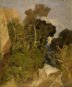 John Sell Cotman May 1782 – 24 July was an English marine and landscape painter, etcher, illustrator and author, a leading member of the Norwich school of artists. Landscape Drawings, Cool Landscapes, Landscape Art, Landscape Paintings, Landscape Sketch, Virtual Art, Green Landscape, Art Uk, Light Painting