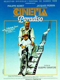 No vuelvas, no escribas, no llames, hazme caso, hagas lo que hagas ámalo, como amabas la cabina del cine Paradiso.