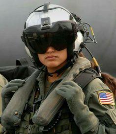 MUJER PILOTO EN LA USAF..