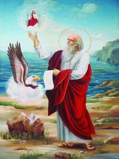 St Priscilla, John The Revelator, Bible Timeline, Orthodox Christianity, Saint Jean, Bottle Painting, Orthodox Icons, Christian Art, Egypt