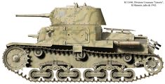 """Fiat M13/40, Divisione Corazata """"Littorio"""", Alamein, July 1942."""