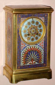 Antique Clock Porcelain Regulator