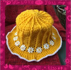 Another little daisy hat I made