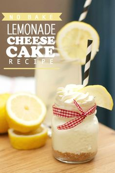 No Bake Lemonade Cheesecake Recipe #PourMoreFun - Spaceships and Laser Beams