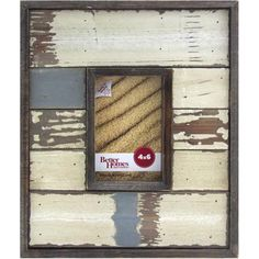Better Homes and Gardens Oracoke 2 Opening Collage Frame Cream