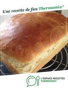 Brioche mie filante inratable! par valyly. Une recette de fan à retrouver dans la catégorie Pains & Viennoiseries sur www.espace-recettes.fr, de Thermomix®.
