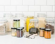 The Stow Complete Pantry – Stow & Co Spring Valley, Spice Jars, Custom Labels, Pantry, Kit, Storage, Food, House, Organisation