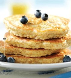 Healthy Whole-Wheat Pancake Recipe the Whole Family Will Love | Fit Bottomed Mamas