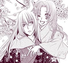 anime, couple, and kamisama kiss image