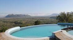 The heated horizon pool at the Sleeping Warrior Lodge in Kenya Horizon Pools, Rift Valley, East Africa, Kenya, Eco Friendly, Sleep, The Incredibles, Camping, Adventure