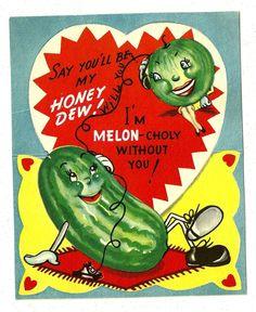 Vintage Valentine card, via eBay