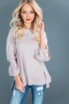 Forever Falling For You Sweater in Blush