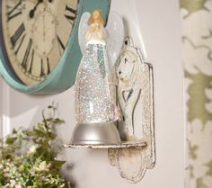 nspirational Glitter Angel with Timer by Valerie... to watch over you or someone you love