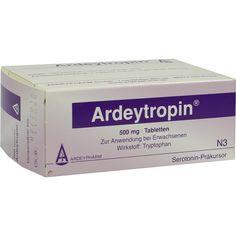 ARDEYTROPIN Tabletten:   Packungsinhalt: 100 St Tabletten PZN: 07422744 Hersteller: Ardeypharm GmbH Preis: 40,09 EUR inkl. 19 % MwSt.…