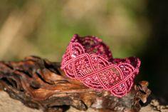Micro macrame bracelet by NinaKJewellery on Etsy