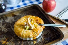 the most delicious chicken pot pie - can be stored in the freezer and then baked later